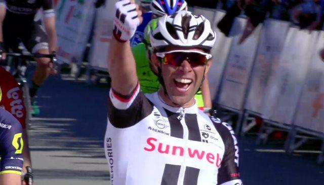 Майкл Мэттьюс – победитель 1-го этапа Тура Страны Басков-2017