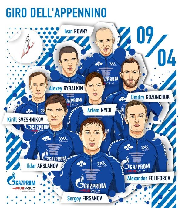 Гонщики Gazprom - RusVelo настроены на успех на одной из старейших гонок Италии