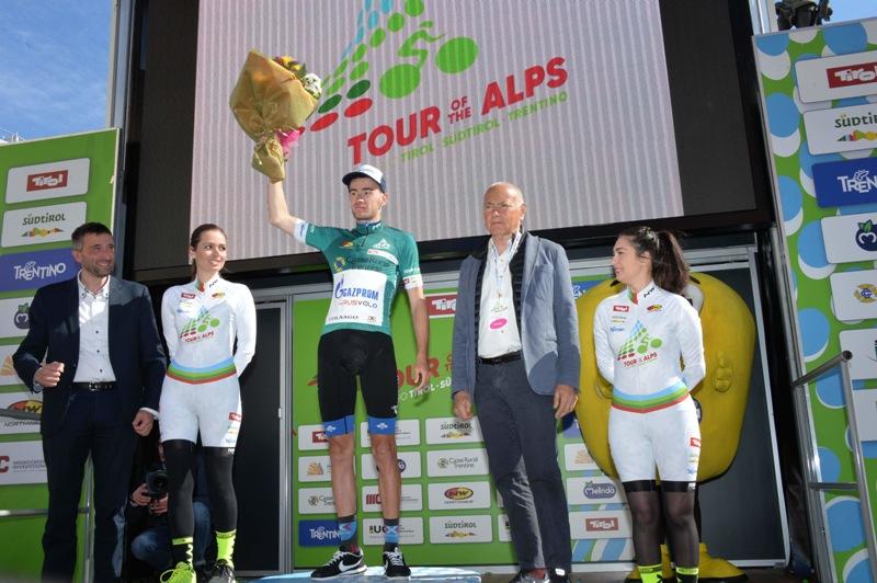 Александр Фолифоров стал сильнейшим в горной классификации Альпийского Тура-2017
