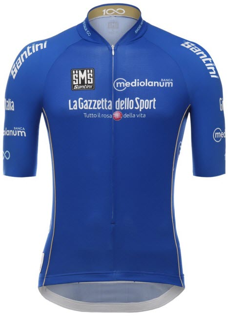 Джиро д'Италия-2017. Синяя майка. Превью