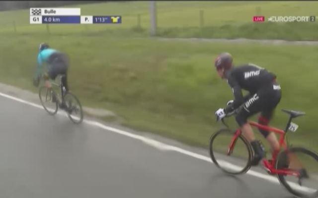 Стефан Кюнг выиграл 2-й этап Тура Романдии-2017, опередив Андрея Гривко
