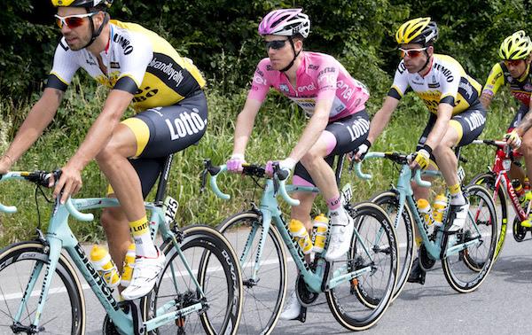 Стевен Крёйсвейк: «Я нацелен на подиум Джиро д'Италия-2017»