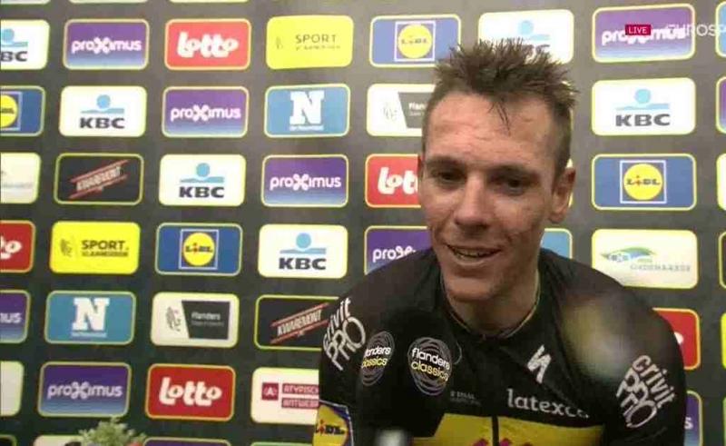 Филипп Жильбер – победитель Тура Фландрии-2017