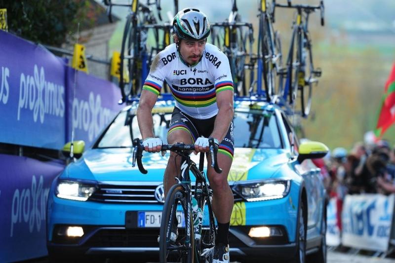 Петер Саган: «Не знаю, из-за чего я упал, но это часть велоспорта»