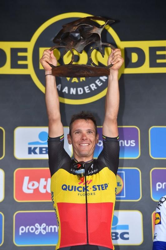 Триумфальное возвращение Филиппа Жильбера на Тур Фландрии-2017