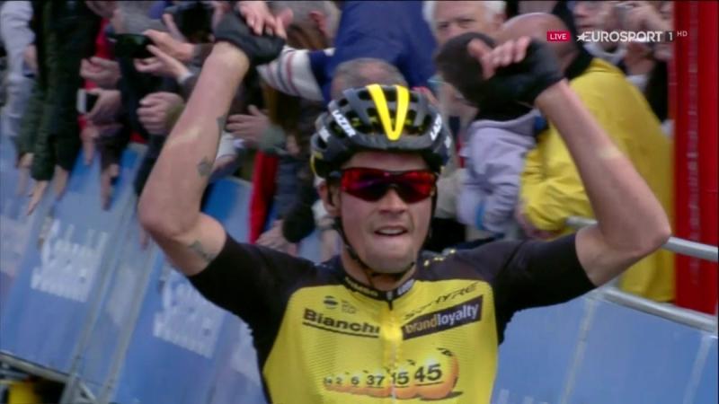 Примож Роглич – победитель 4 этапа Тура Страны Басков-2017