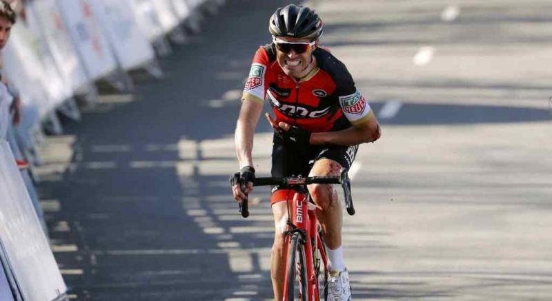 Падение Самуэля Санчеса на 5-м этапе Тура Страны Басков-2017