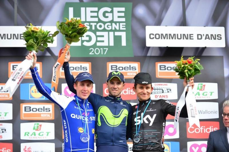 Дэн Мартин и Михал Квятковски – призёры Льеж-Бастонь-Льеж-2017