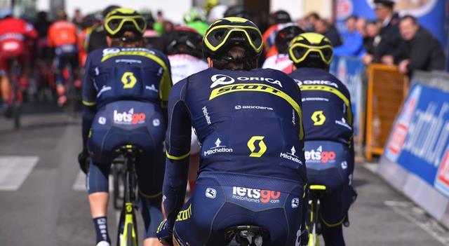 Состав команды Orica-Scott на Джиро д'Италия-2017