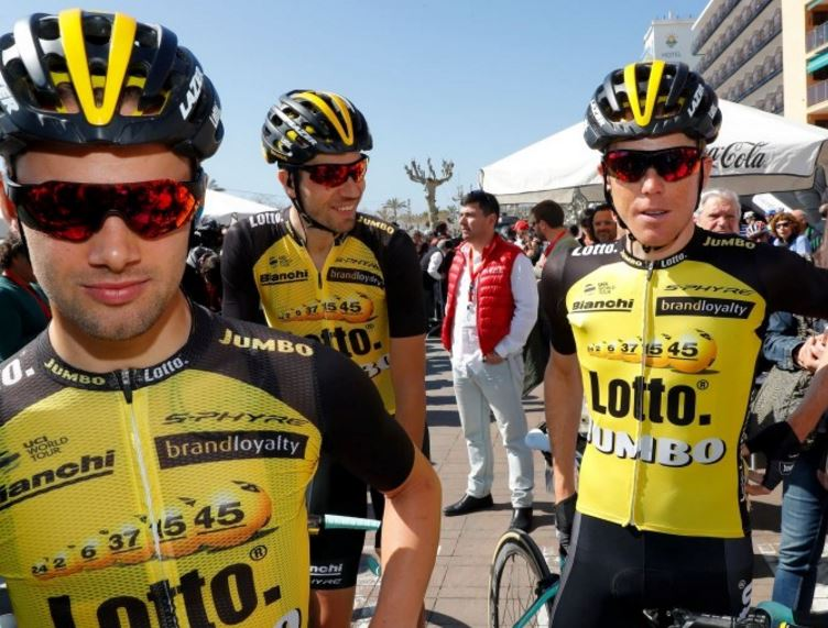 Состав команды LottoNL-Jumbo на Джиро д'Италия-2017