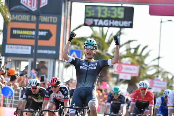 Пестльбергер одержал победу 1-ый этап «Джиро-д'Италия»