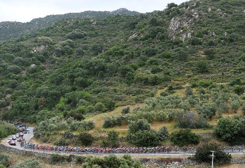 Джиро д'Италия-2017. Результаты 2-го этапа