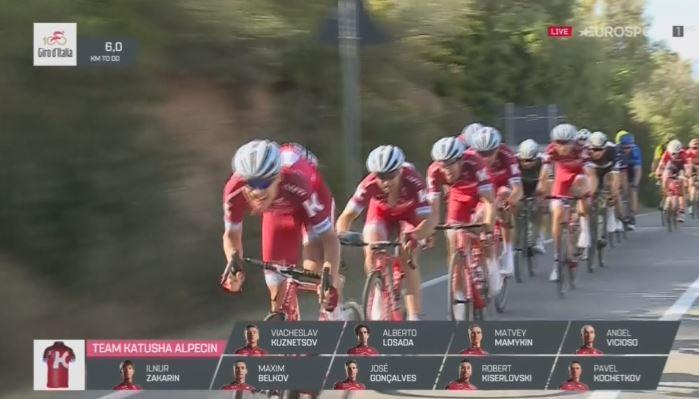 Жозе Азеведу об инциденте с Ильнуром Закариным на 2 этапе Джиро д'Италия-2017
