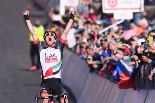 Джиро д'Италия. житель россии Закарин стал вторым на 4-м этапе