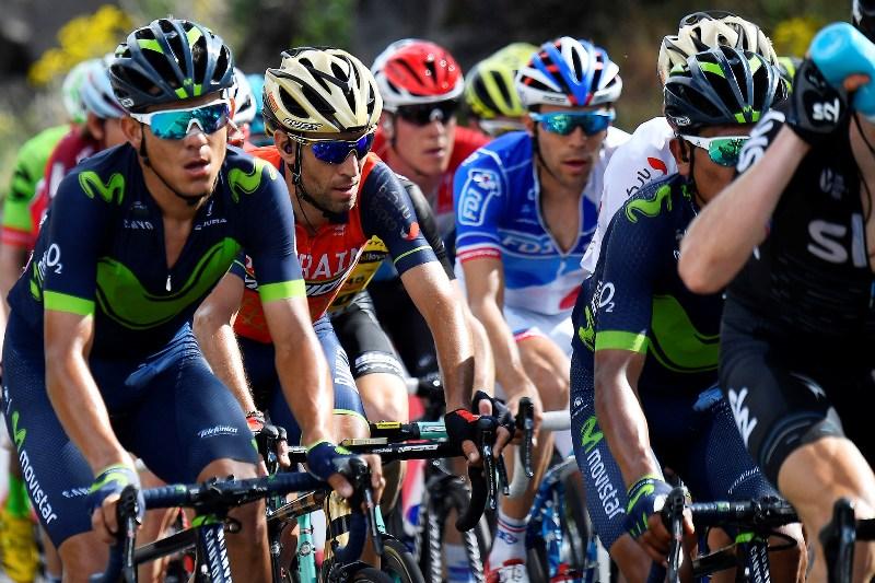 Винченцо Нибали о подъеме на Этну и дисквалификация Хавьера Морено