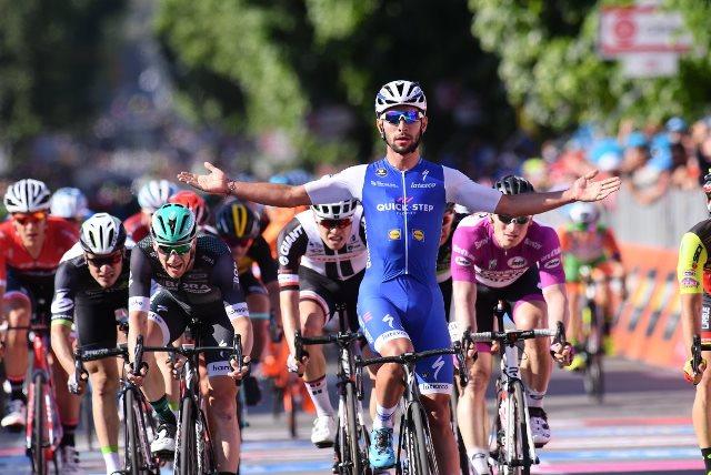 Фернандо Гавирия – победитель 5-го этапа Джиро д'Италия-2017