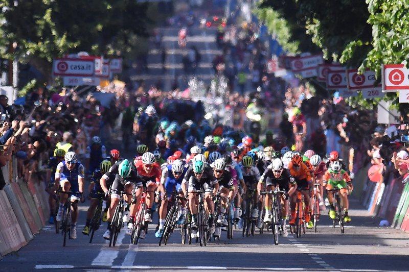 Джиро д'Италия-2017. Результаты 5-го этапа