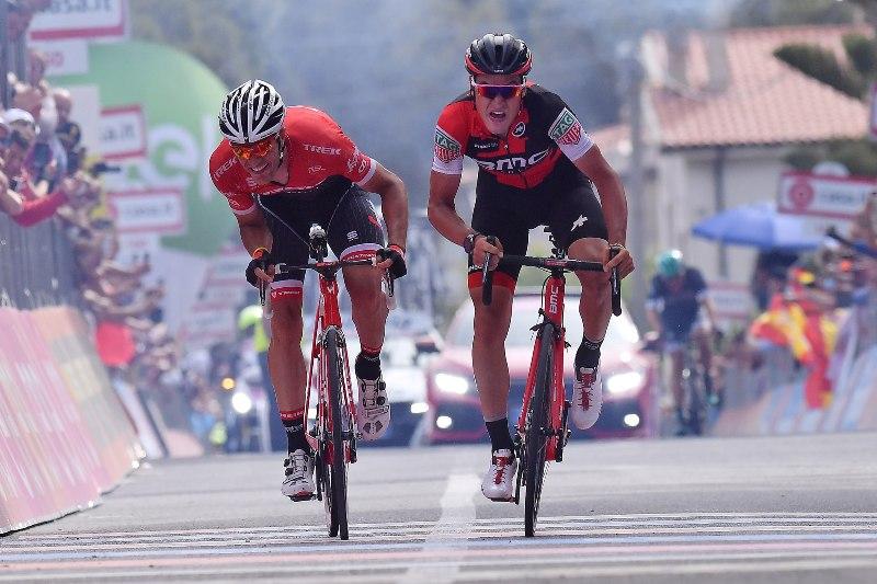 Джиро д'Италия-2017. Результаты 6-го этапа