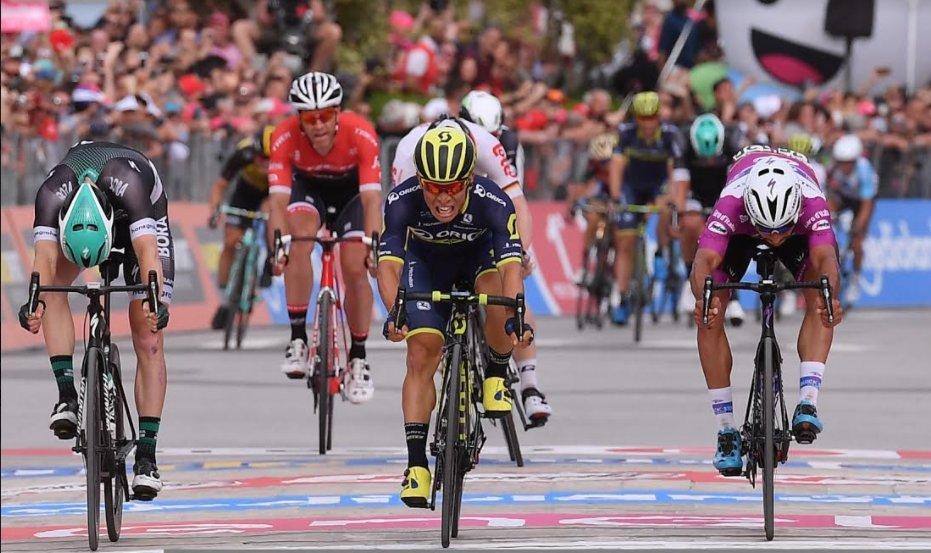 Джиро д'Италия-2017. Результаты 7-го этапа