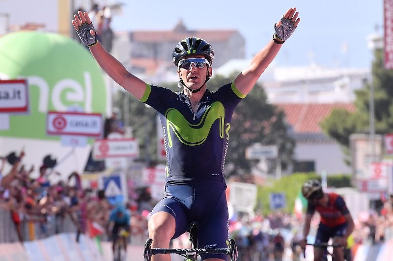 Горка Исагирре, Джованни Висконти, Луис-Леон Санчес и Валерио Конти о 8-м этапе Джиро д'Италия-2017