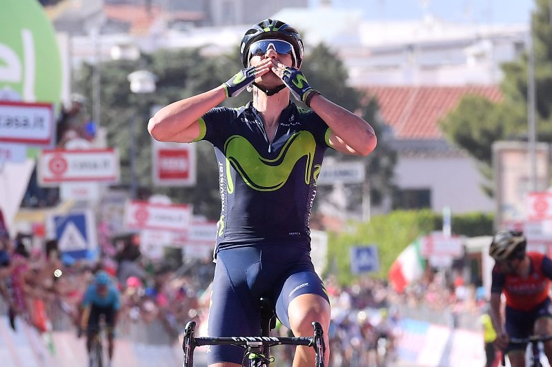 Джиро д'Италия-2017. Результаты 8-го этапа