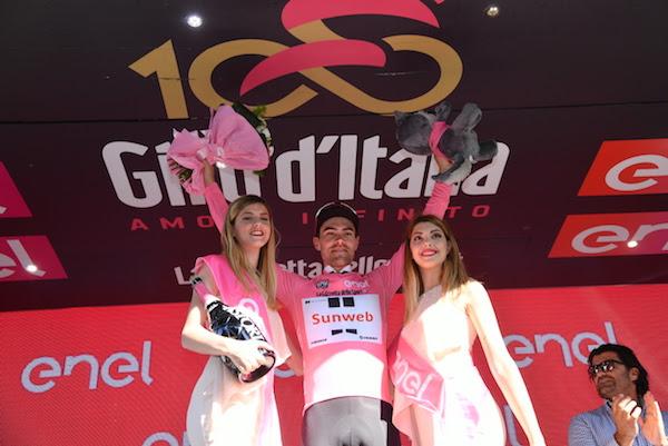 Омар Фраиле – победитель 11-го этапа Джиро д'Италия-2017