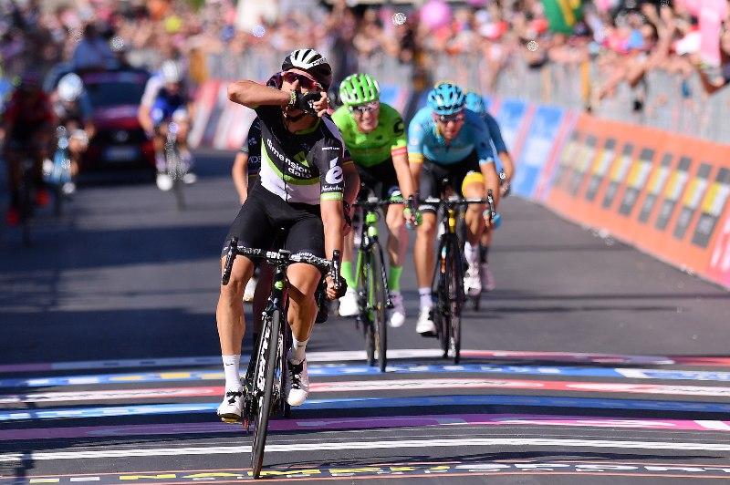 Джиро д'Италия-2017. Результаты 11-го этапа