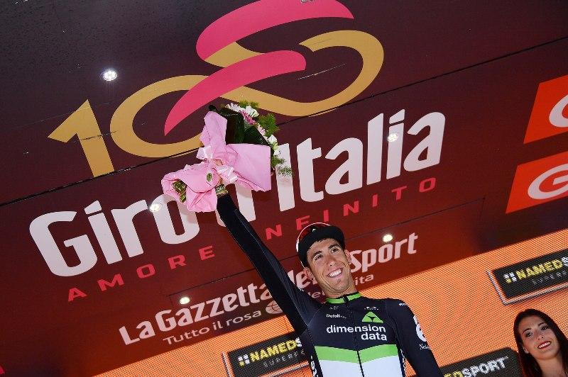 Омар Фраиле, Том Дюмулин, Винченцо Нибали, Андрей Амадор об 11-м этапе Джиро д'Италия-2017