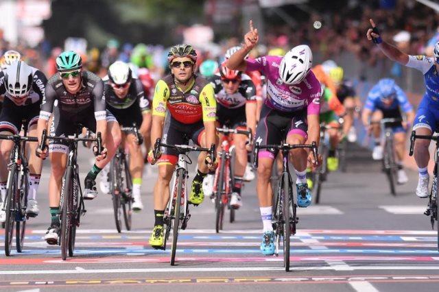 Джиро д'Италия-2017. Результаты 12-го этапа