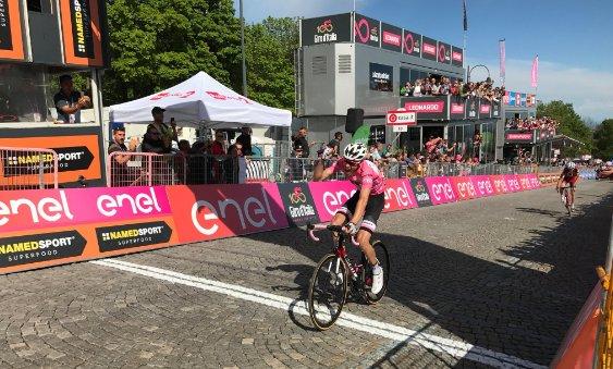 Том Дюмулин – победитель 14-го этапа Джиро д'Италия-2017