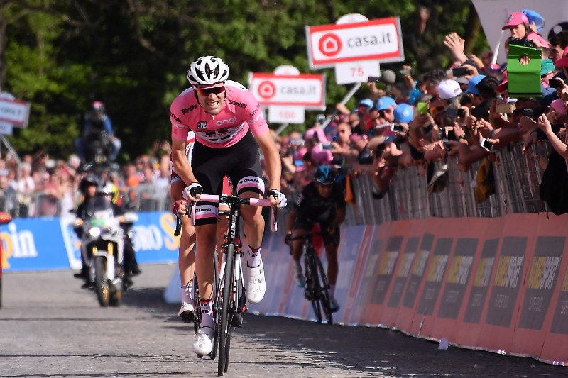 Том Дюмулин и Ильнур Закарин о 14-м этапе Джиро д'Италия-2017