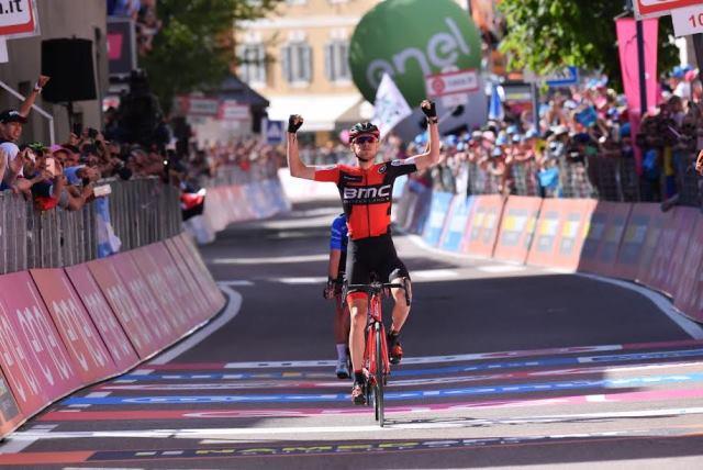 Тиджей Ван Гардерен – победитель 18 этапа Джиро д'Италия-2017