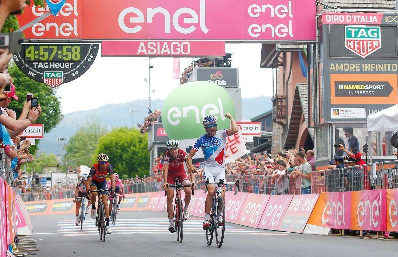 Тибо Пино и Ильнур Закарин о 20-м этапе Джиро д'Италия-2017