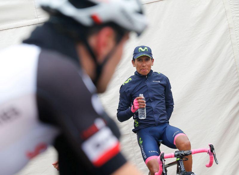 Наиро Кинтана, Том Дюмулин, Винченцо Нибали о 20-м этапе Джиро д'Италия-2017