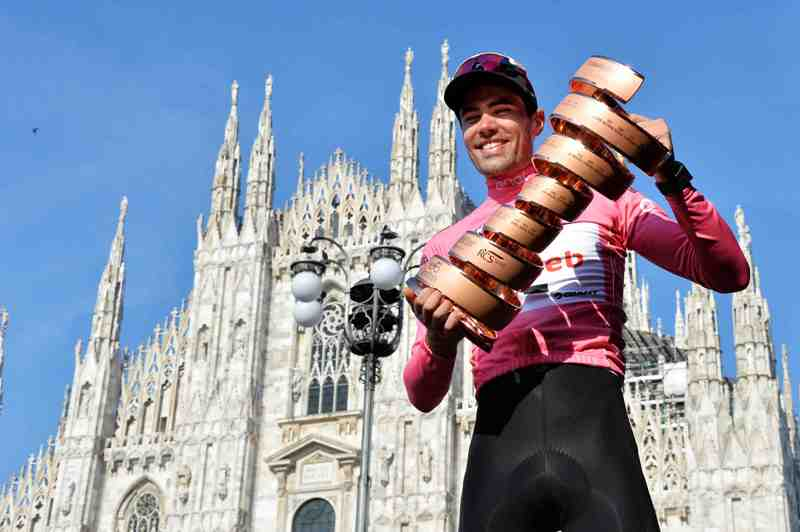 Том Дюмулин – первый голландец, выигравший Джиро д'Италия