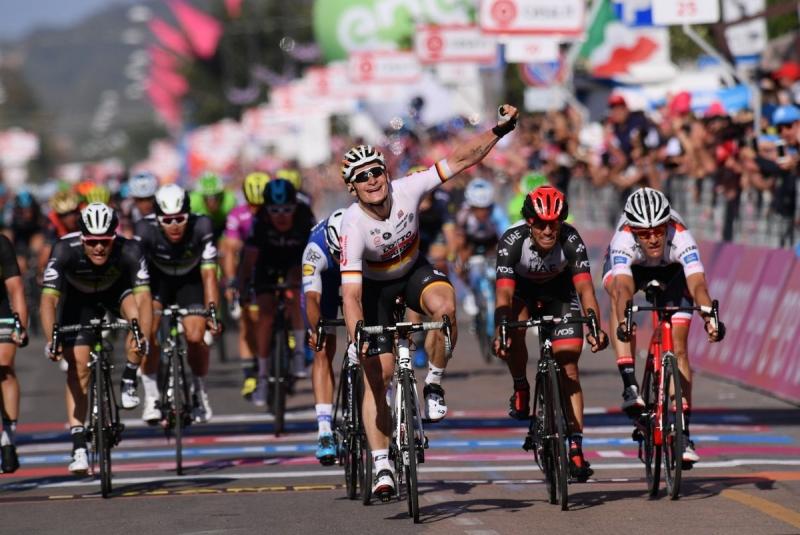 Андре Грайпель – победитель 2-го этапа Джиро д'Италия-2017