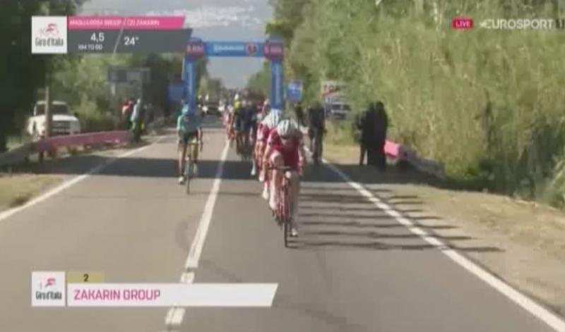 Жозе Азеведу об инциденте с Ильнуром Закариным на 2-м этапе Джиро д'Италия-2017