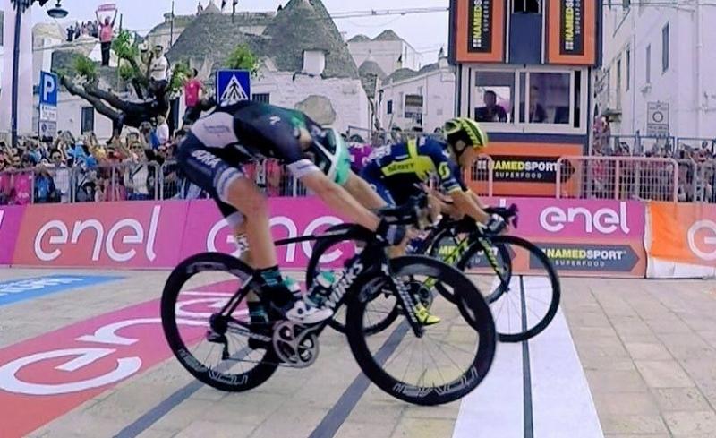 Калеб Юэн  – победитель 7-го этапа Джиро д'Италия-2017