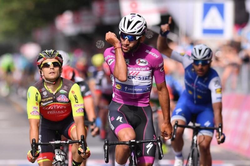 Фернандо Гавирия – победитель 12-го этапа Джиро д'Италия-2017
