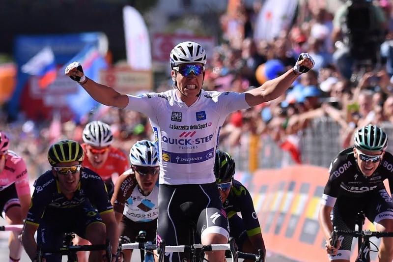 Боб Юнгельс – победитель 15 этапа Джиро д'Италия-2017