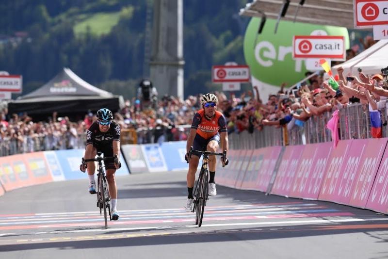 Винченцо Нибали – победитель 16-го этапа Джиро д'Италия-2017
