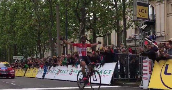 Томас Де Гендт – победитель 1-го этапа Критериума Дофине-2017