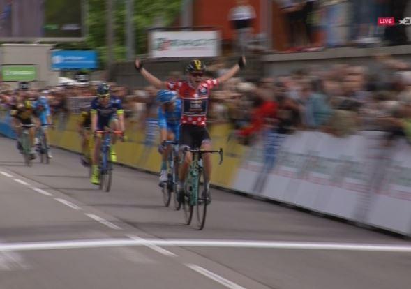 Кун Бауман – победитель 3-го этапа Критериума Дофине-2017