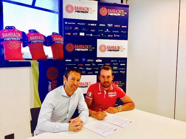 Сонни Кольбрелли продлил контракт с командой Bahrain-Merida