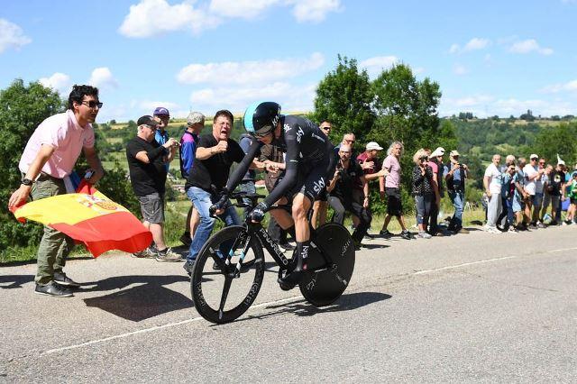 Альберто Контадор и Крис Фрум о 4-м этапе Критериума Дофине-2017