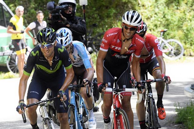 Альберто Контадор и Эмануэль Бухманн о 6-м этапе Критериума Дофине-2017