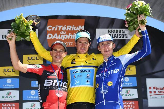 Ричи Порт и Дэн Мартин – призёры Критериума Дофине-2017