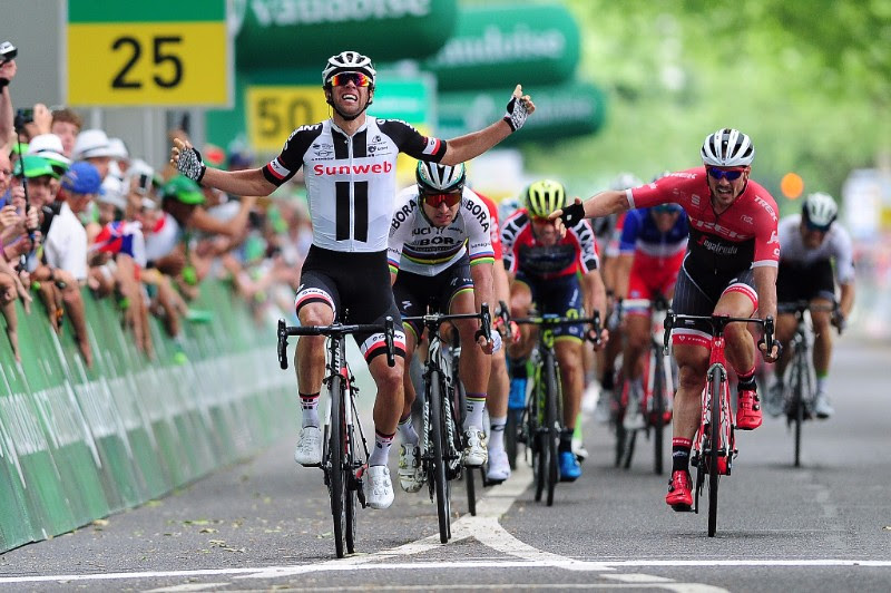Майкл Мэттьюс, Петер Саган и Джон Дегенкольб о 3-м этапе Тура Швейцарии-2017