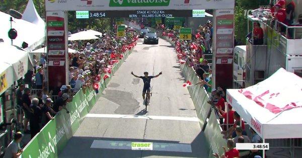 Ларри Уорбасс – победитель 4-го этапа Тура Швейцарии-2017