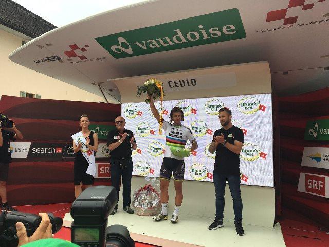 Петер Саган – победитель 5 этапа Тура Швейцарии-2017